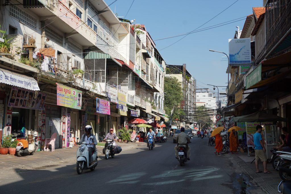 Calles de Phnom Penh, Camboya