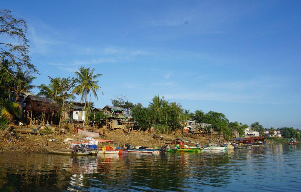 Aldeas flotantes en el lago Tonle Sap, Camboya