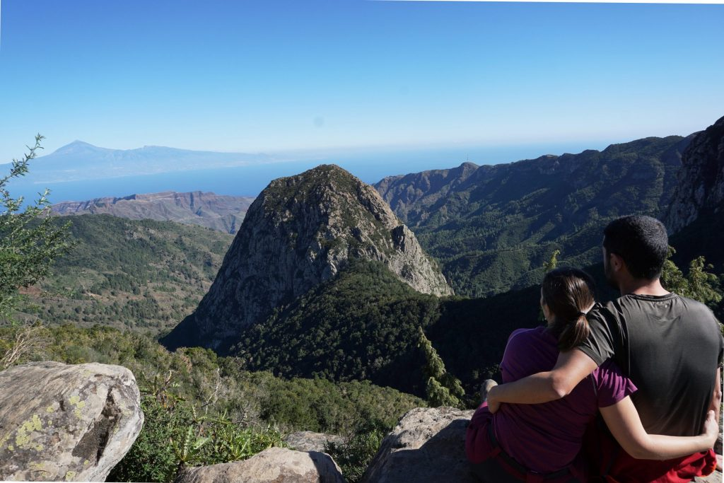 El mejor mirador de los roques, La Gomera