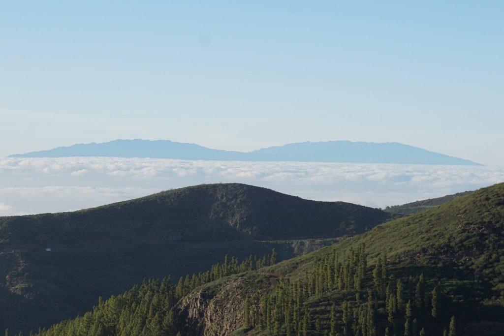 Vistas de La Palma desde La Gomera