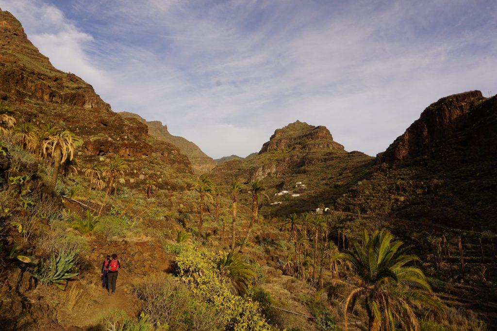 Barranco de Guarimiar, Sendero de los barrancos de Guarimiar y Benchijigua