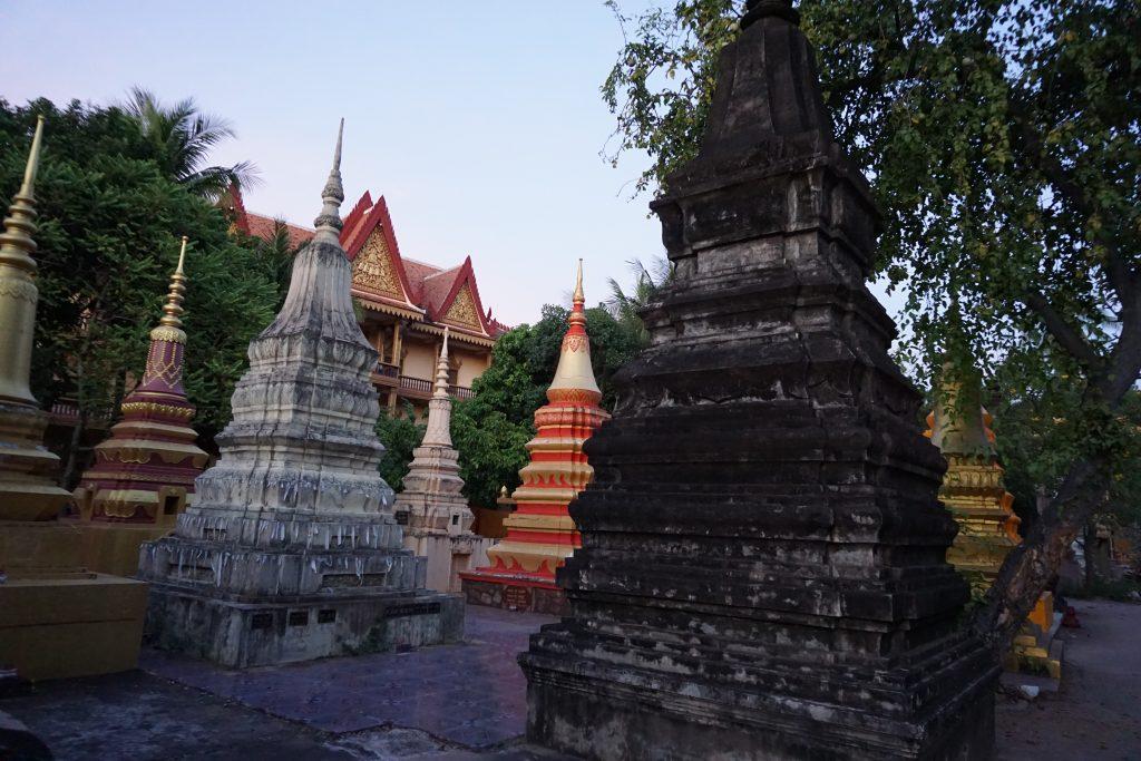 Templo Wat Damnak, Siem Reap, Camboya