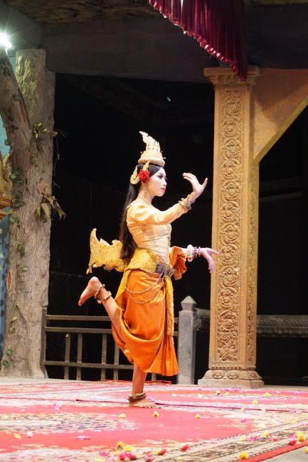 Danza Apsara en Siem Reap, Camboya