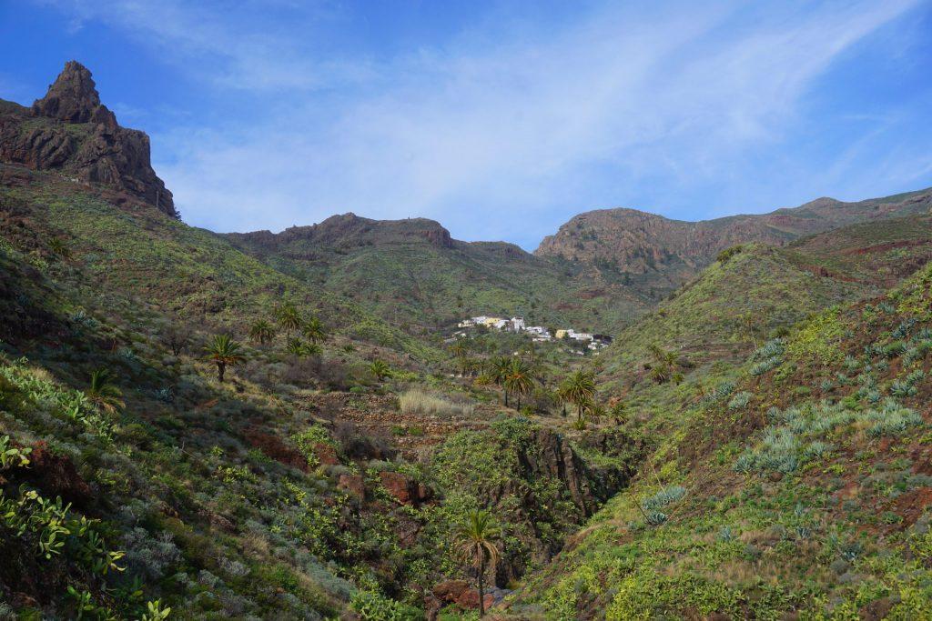 Imada, Sendero de los barrancos de Guarimiar y Benchijigua