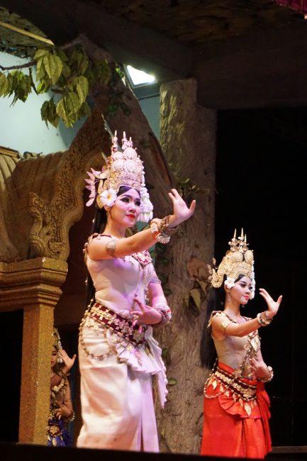 Danza Apsara, Siem Reap, Camboya