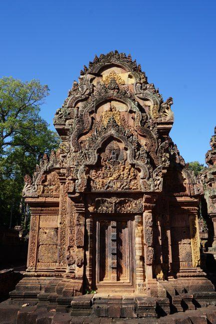 Puerta biblioteca Banteai Srei