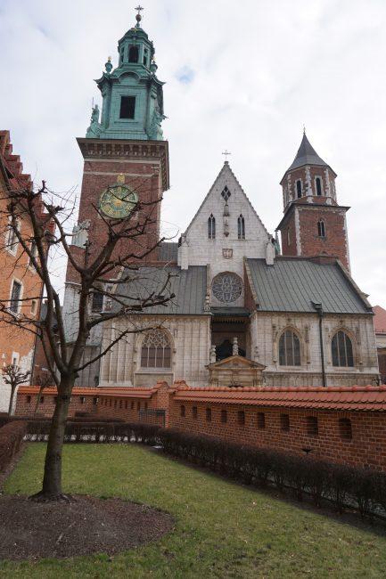 Colina Wavel: Catedral de Cracovia