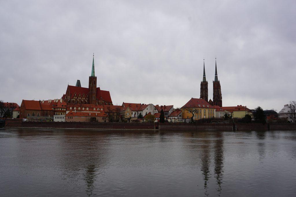 Paseo por las orillas del río Oder, Breslavia
