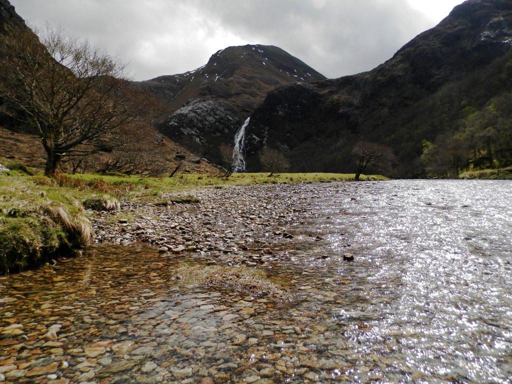 Escocia Ruta Steall Falls