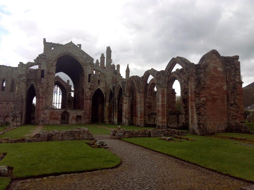 Escocia Melrose Abbey