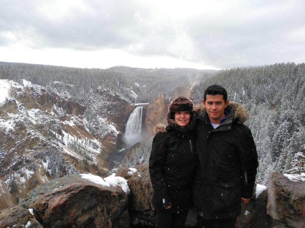 Cañón de Yellowstone National Park