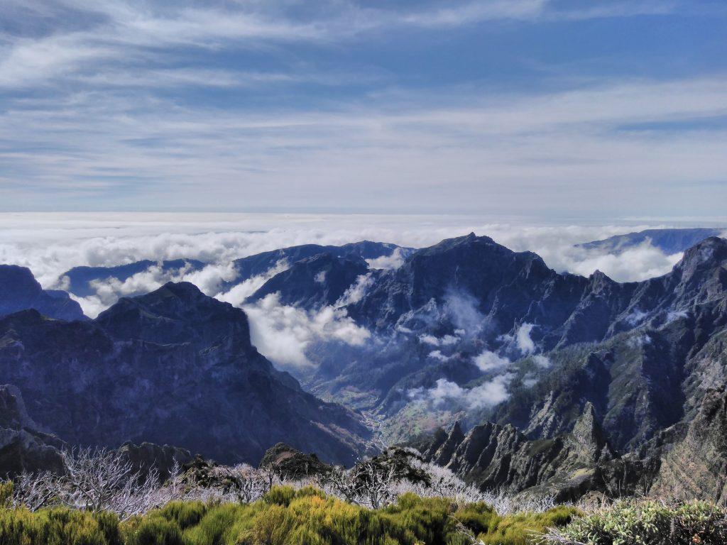Mirador do Pico Ruivo, Madeira