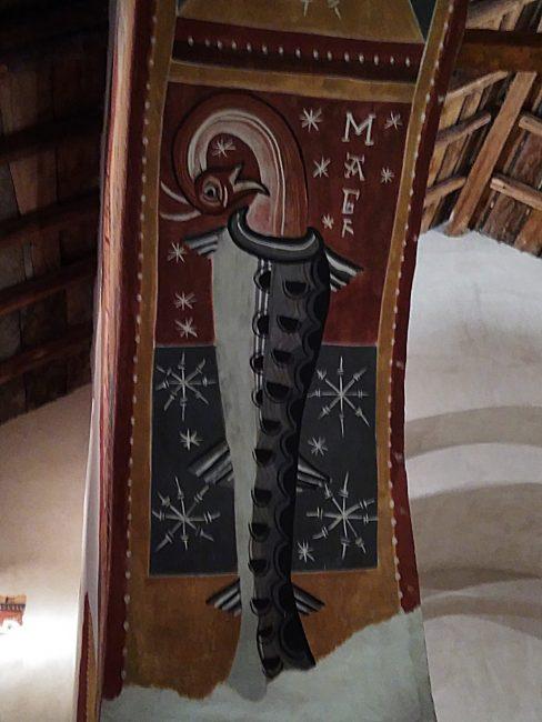 Fresco en Sant Joan de Boí, Vall de Boí