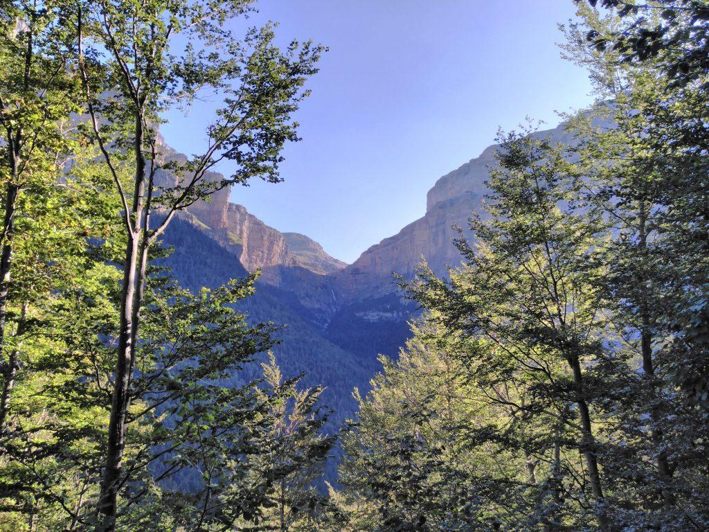 Parque Nacional de Ordesa y Monte Perdido, Senda de los Cazadores, Cañón de Ordesa