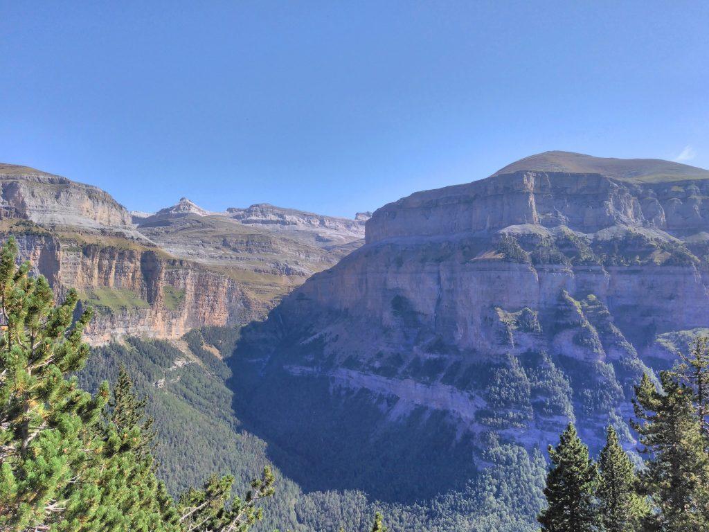 Pirineos, Mirador de Cacilarruego, Cañón de Ordesa