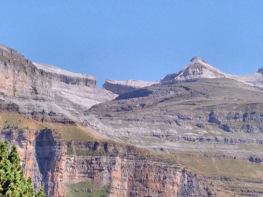 Parque Nacional de Ordesa y Monte Perdido, Brecha de Rolando desde la Faja Pelay, Cañón de Ordesa