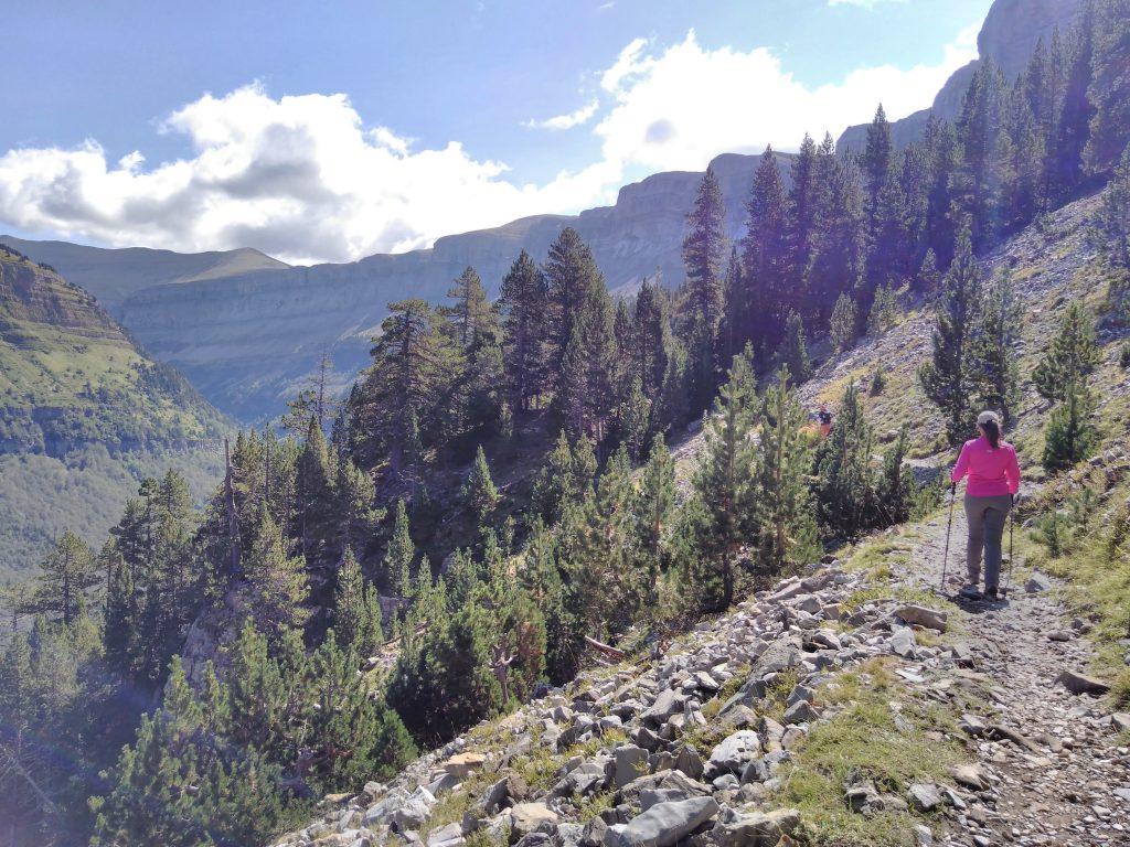 Parque Nacional de Ordesa y Monte Perdido, Faja Pelay, Cañón de Ordesa