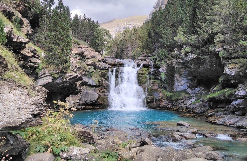 Parque Nacional de Ordesa y Monte Perdido, Gradas de Soaso, Cañón de Ordesa