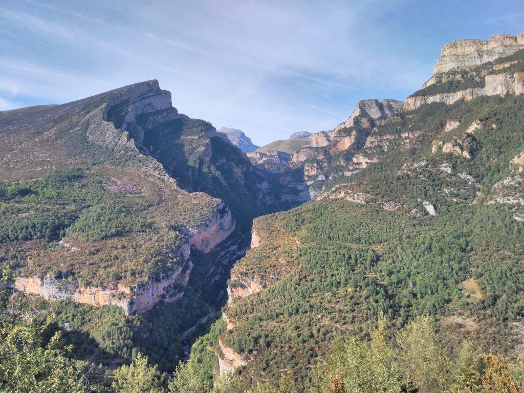 Parque Nacional de Ordesa y Monte Perdido, Cañón de Añisclo al atardecer