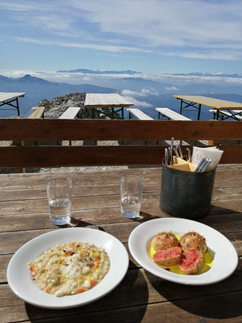 Rifugio Santner, Dolomitas
