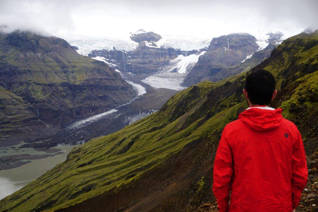 Vistas del glaciar Morsarjokull