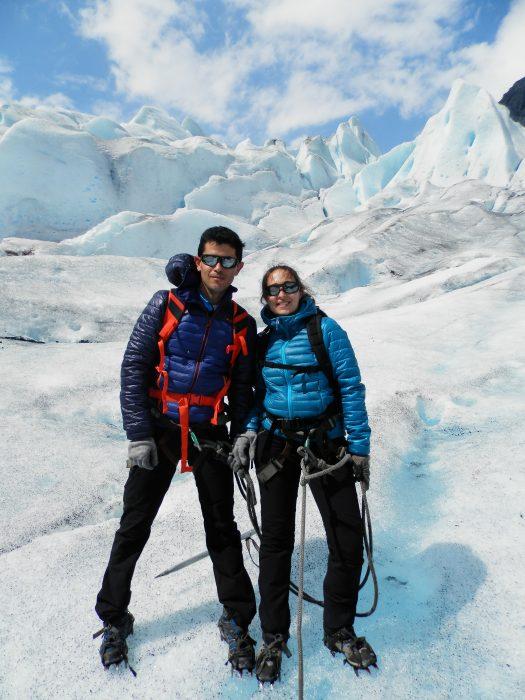 Noruega Fiordos Trekking en el glaciar