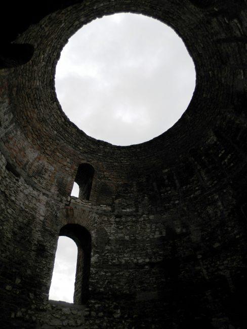 Vestibulum del Palacio de Diocleciano, Split, Croacia