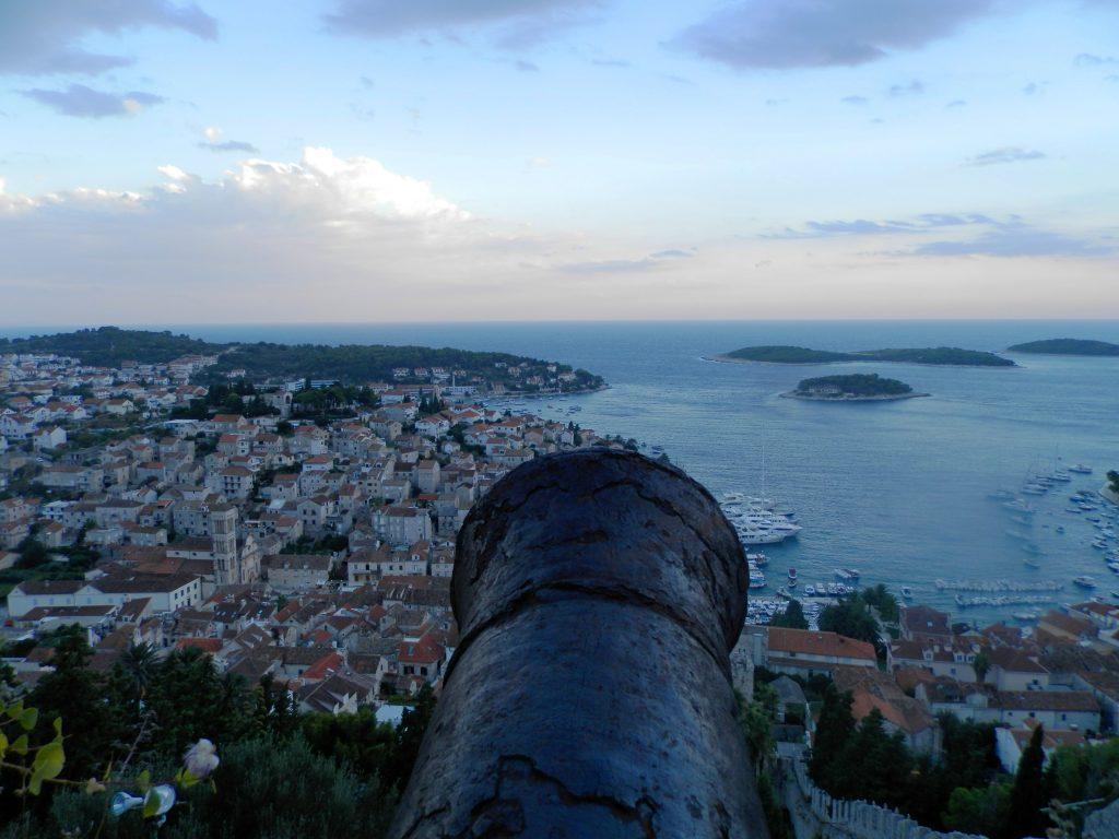 Fortaleza Española , isla de Hvar, Croacia