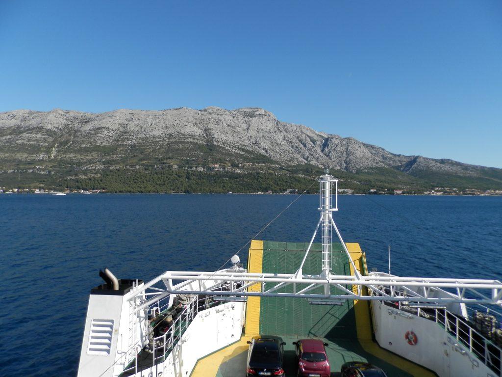 Ferry en Croacia