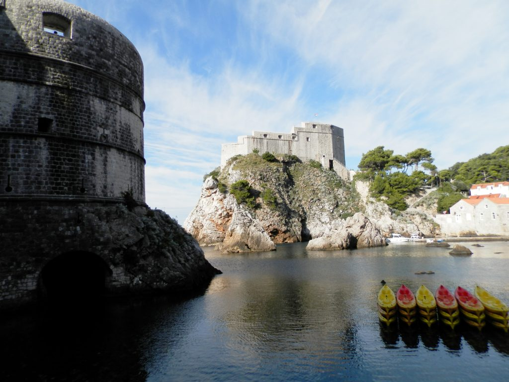 Kayak en Dubrovnik, Croacia