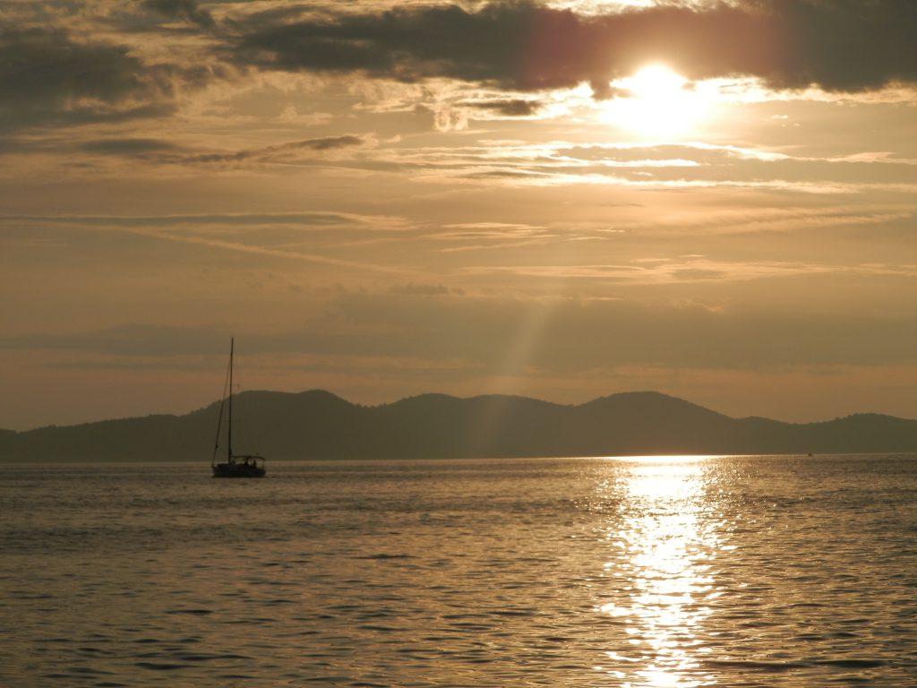 Puesta de sol, Zadar, Croacia