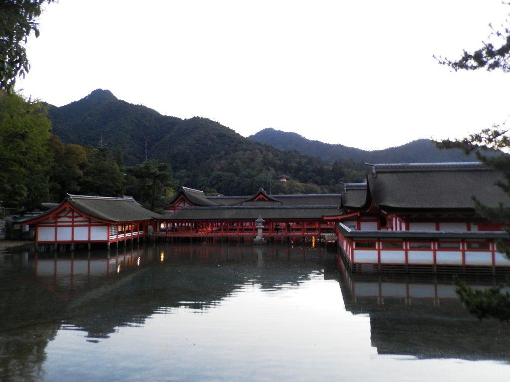 Japón, Santuario Itsukushima en Miyajima