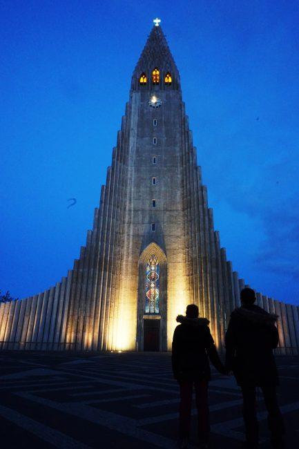 "Hallgrímskirkja, la catedral de ""columnas de basalto"""