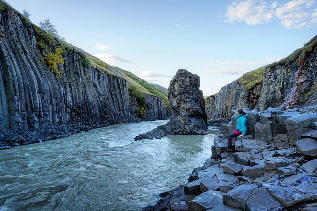 Más del desconocido cañón de Stuðlagil