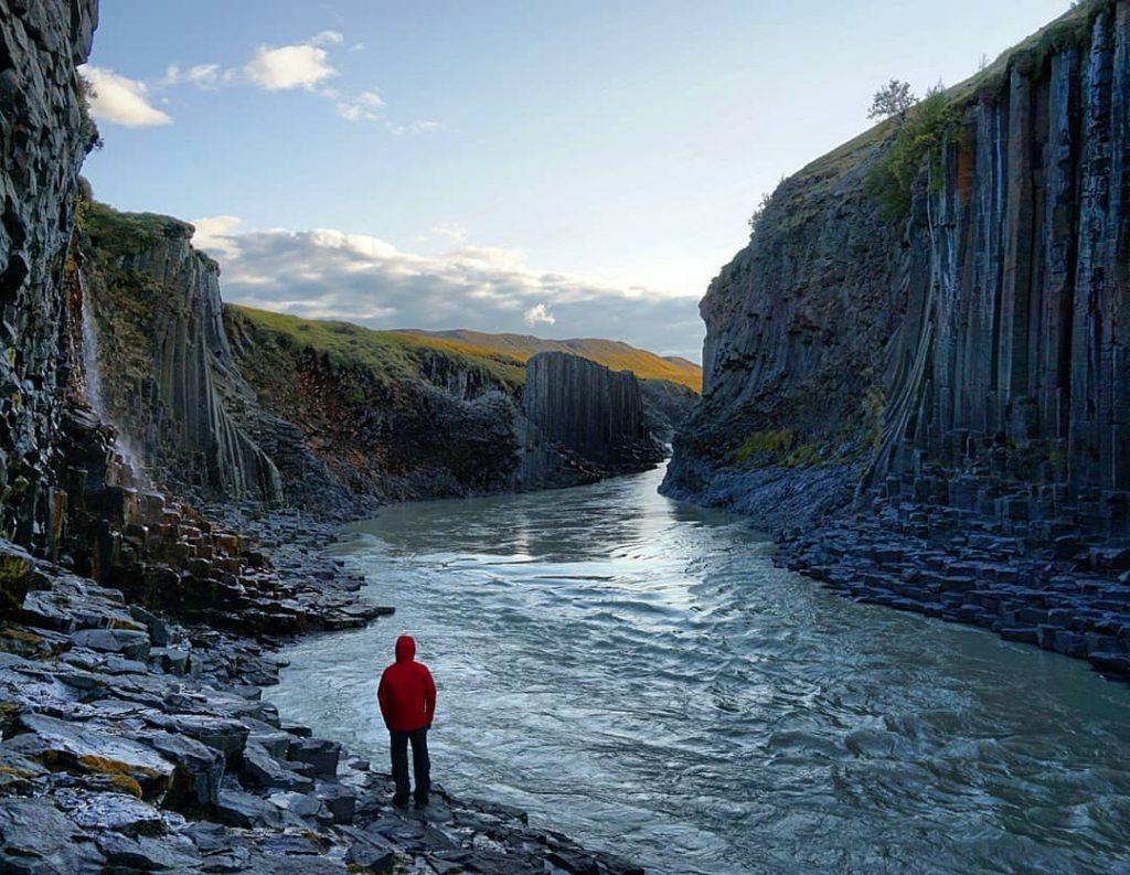 El desconocido cañón de Stuðlagil