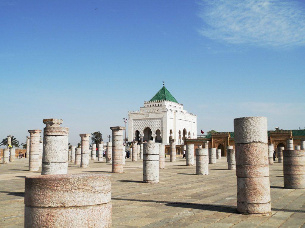 Marruecos Mausoleo Mohamed V en Rabat