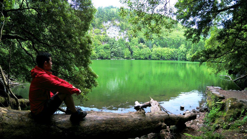 Descansando en la Lagoa do Congro