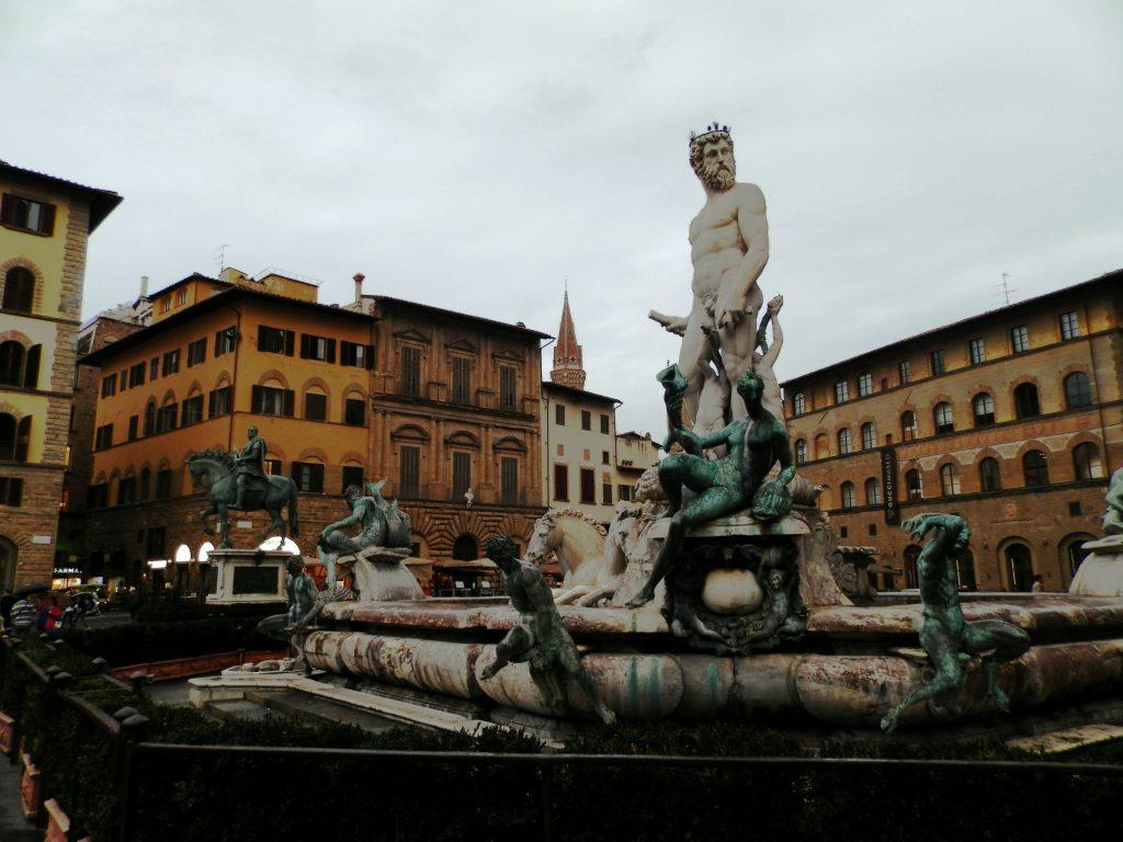 Italia Toscana Florencia Piazza della Signoria