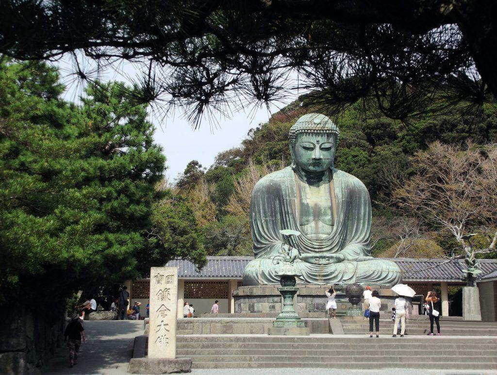 Japón, Daibutsu, el gran Buda de Kamakura