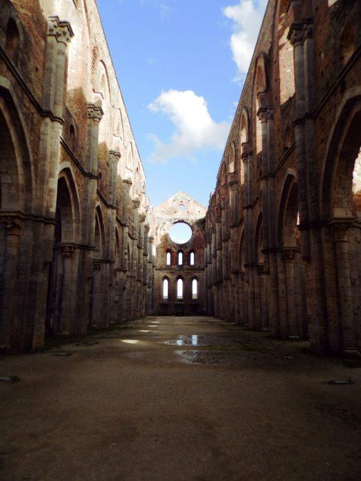 Italia Toscana Abbazia di San Galgano