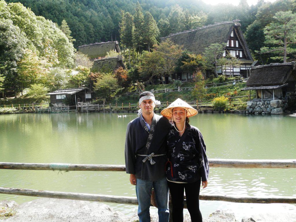 Japón, Aldea Hida no Sato