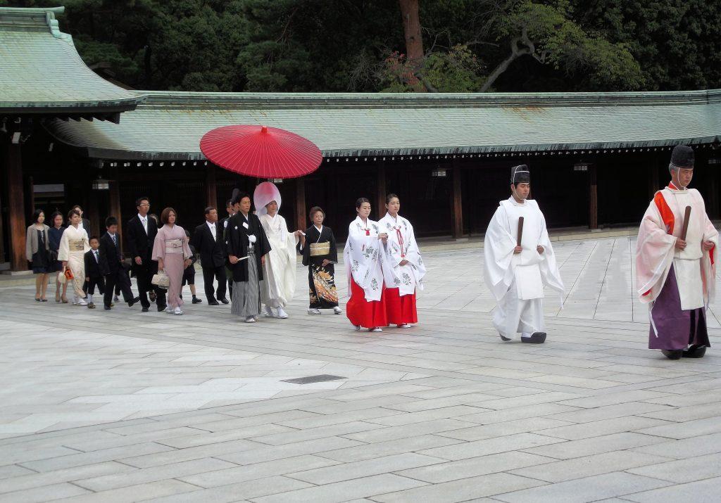 Japón, Santuario Meiji en Kyoto