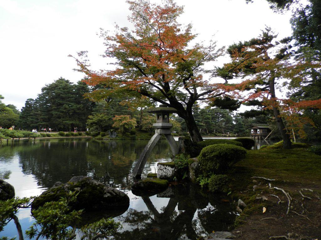 Japón, Jardín Kenrokuen en Kanazawa