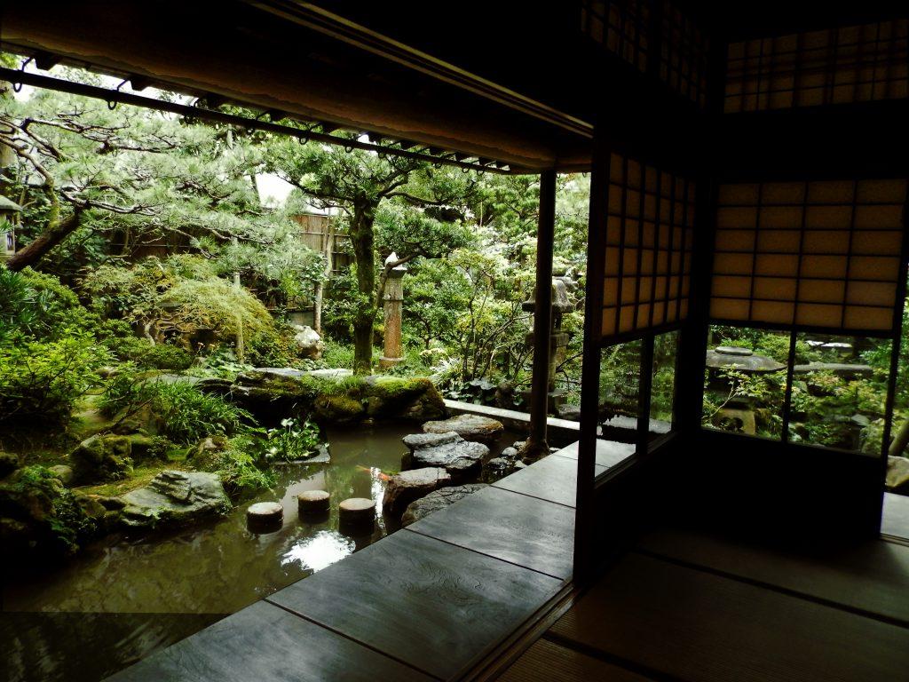 Japón, Jardín de la Casa Nomura en Kanazawa