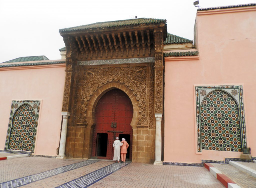 Marruecos Mausoleo de Moulay Ismail en Meknes