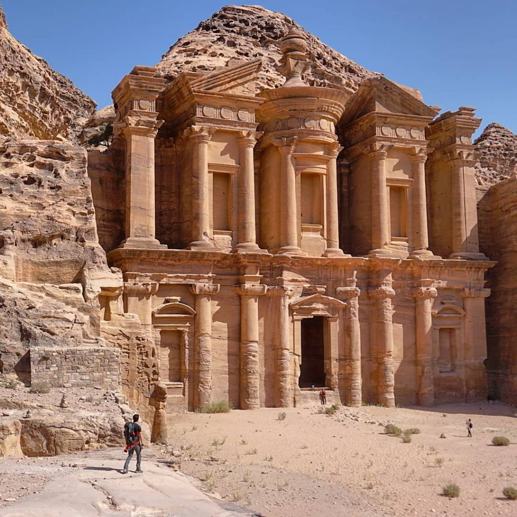 Terminamos el trekking en el Monasterio, Petra