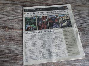 EEUU Oeste Periódico Parque